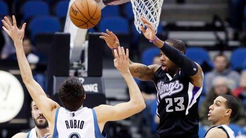 Kings at Timberwolves: 1/15/14
