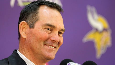 In pictures: Mike Zimmer