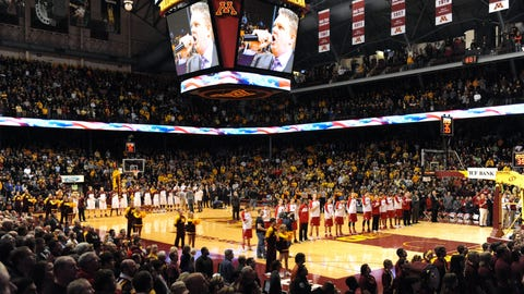 Badgers at Gophers: 1/22/14
