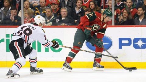 Blackhawks at Wild: 1/23/14