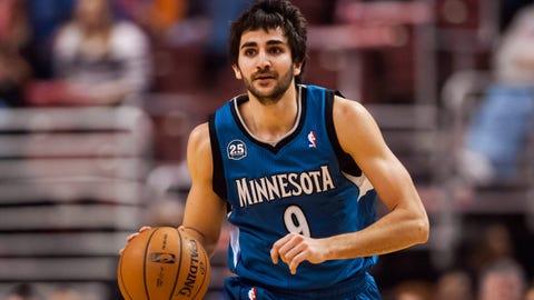 Ricky Rubio, PG, Minnesota Timberwolves