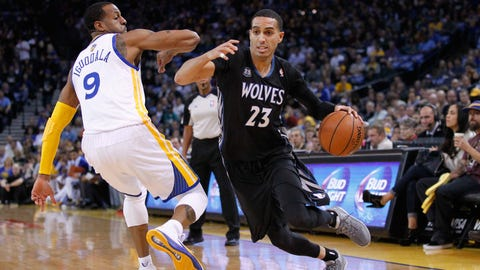 Wolves at Warriors: 1/24/14