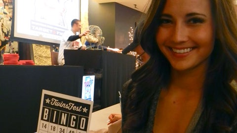 Everyone loves a round of Twinsfest Bingo - especially when it's called by Twins players!