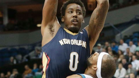 Pelicans at Timberwolves: 1/29/14