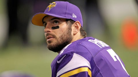 Christian Ponder, QB, first round, 12th overall