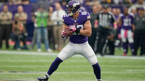 Kyle Rudolph, TE, second round, 43rd overall