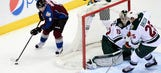 Wild comeback falls short, felled by Avalanche