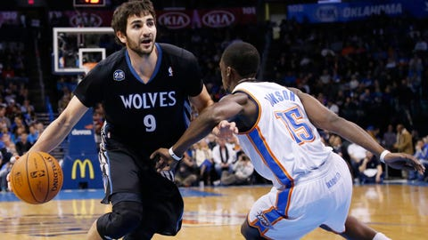 Wolves at Thunder: 2/5/14