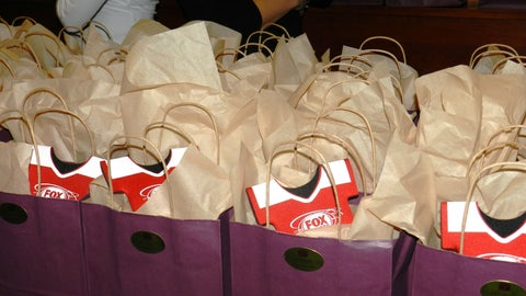 Minnesota Wild Ladies Night gift bags