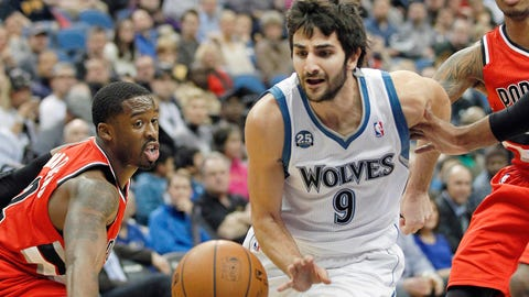 Blazers at Wolves: 2/8/14