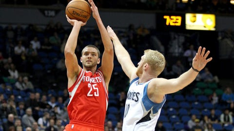 Chandler Parsons, SF, Houston Rockets