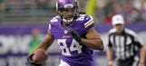 After 'bad' rookie year, Vikings' Patterson vows to be 'way better'
