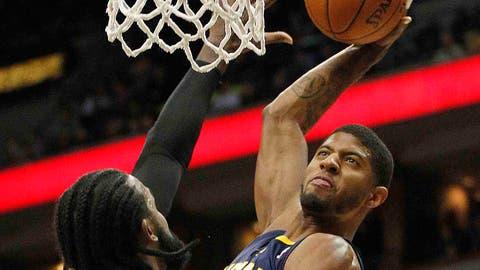 Pacers at Timberwolves: 2/19/14