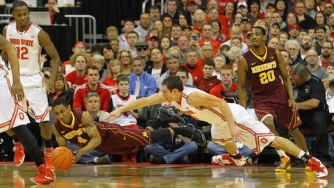 Gophers at Buckeyes: 2/22/14