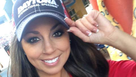 FOX Sports North Girl Kaylin attended the Daytona 500 along with three other FOX Sports Girls.