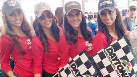 Kaylin joined Morgan (FOX Sports South), Jordana (FOX Sports Florida), and Liddy (FOX Sports Southwest) at Daytona International Speedway for an exciting Nascar weekend!