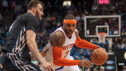 Knicks at Wolves: 3/5/14