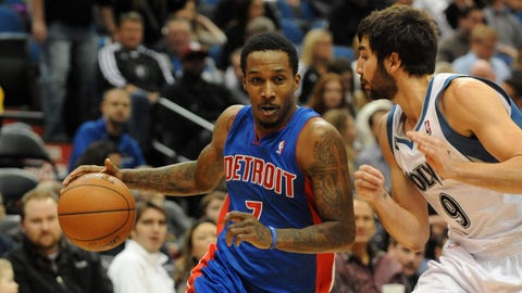 Pistons at Wolves: 3/7/14