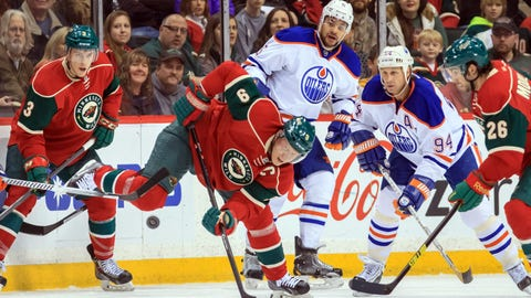 Oilers at Wild: 3/11/14
