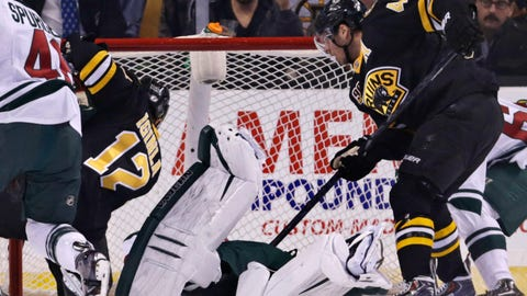 Wild at Bruins: 3/17/14