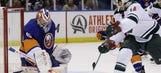 Moulson's two goals, assist lead Wild past Islanders