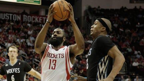 Minnesota Timberwolves at Houston Rockets: 3/20/14