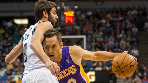 Lakers at Wolves: 3/28/14