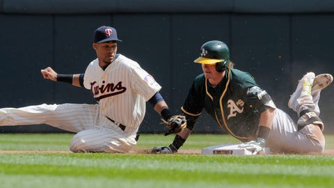 Athletics at Twins: 4/7/14-4/10/14