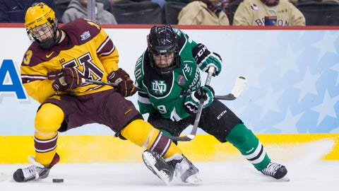 Minnesota Golden Gophers vs. North Dakota Fighting Sioux: 4/10/14