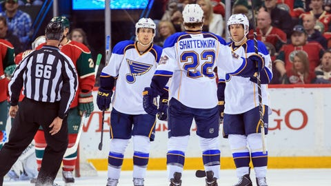 St. Louis Blues at Minnesota Wild: 4/10/14