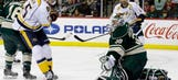With little on the line, Wild fall to Predators