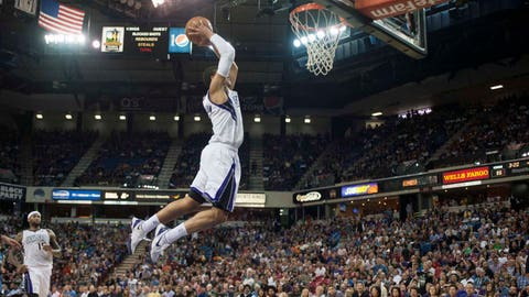 Timberwolves at Kings: 4/13/14