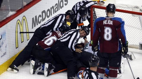 Wild at Avalanche: 4/17/14