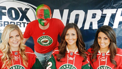 Don't forget to check out the face painting booth at the Wild Playoff Pregame Parties.