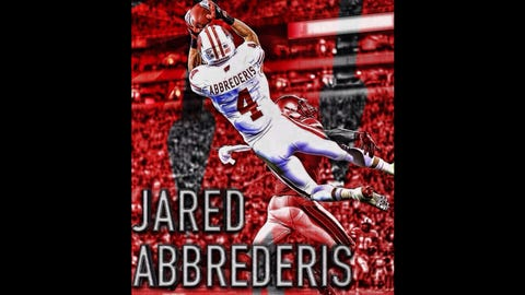 Jared Abbrederis, WR, former Wisconsin Badger