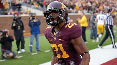 Minnesota FS Brock Vereen; Bears (4th Round, 131st overall)