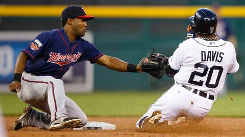 1. Danny Santana has been impressive in a handful of games at shortstop.