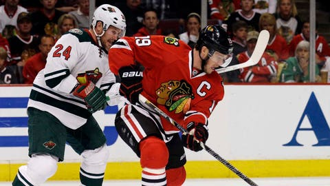 Wild at Blackhawks, Game 5: 5/11/14
