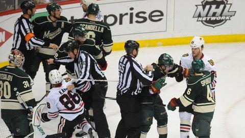 Blackhawks at Wild, Game 6: 5/13/14