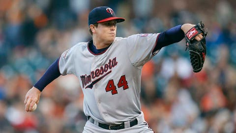 Twins at Giants: 5/23/14-5/25/14