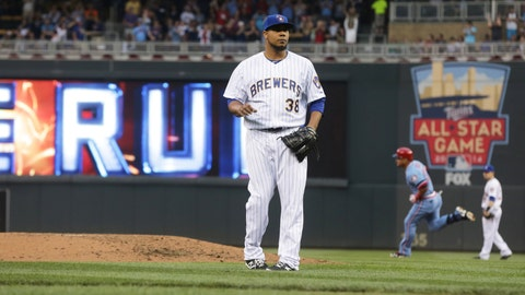 Brewers at Twins: 6/4/14-6/5/14