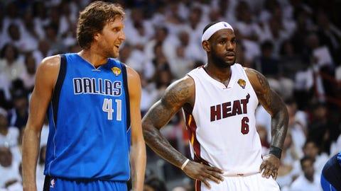 Dallas Mavericks (4-2) vs. Miami Heat, 2011