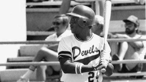 Left field: Barry Bonds (Arizona State, 1983, 1984)