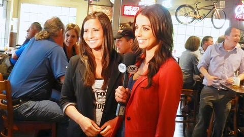 Angie and Kaylin film from Lone Oak Grill in Eagan.