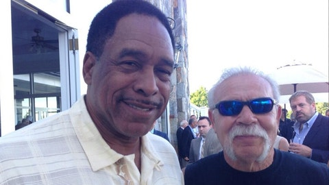 Dave Winfield, former Twins outfielder, St. Paul native