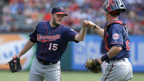 Twins at Rangers: 6/27/14-6/29/14
