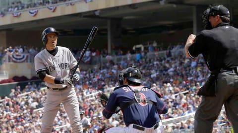 Yankees at Twins: 7/3/14-7/6/14