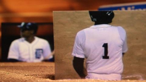1985: Lou Whitaker's fake jersey
