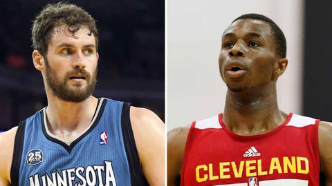 Timberwolves deal Kevin Love to Cavaliers, get Andrew Wiggins in return