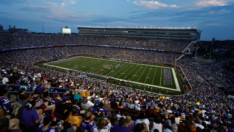 Raiders at Vikings: 8/8/14